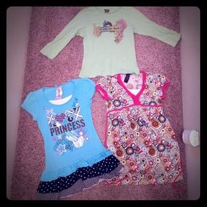 3 ITEMS - Bundle of Girls Shirts